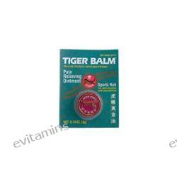 Tiger Balm, Pain Relieving Ointment, Regular Strength White Non-Staining, Sports Rub, 0.14 oz (4 g)