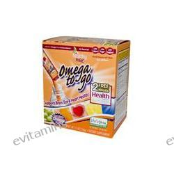 To Go Brands, Healthy To Go, Omega To Go, Creamsicle Orange Flavor, 24 Packets, 5.5 oz (156 g) Each