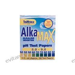Trimedica, AlkaMax pH Papers, pH 5.0-9.0, Single Roll Dispenser (15 ft.) Roll