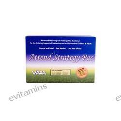 Vaxa International, Attend Strategy Pac, 3 Bottles-60 Capsules Each