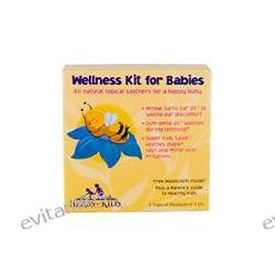 Herbs for Kids, Wellness Kit for Babies, 3 Topical Products, 1 oz Each