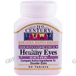 21st Century Health Care, Advanced Antioxidant Healthy Eyes, 60 Capsules