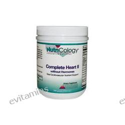 Allergy Research Group, Nutricology, Complete Heart ll without Hormones, 300 g (10.6 oz)