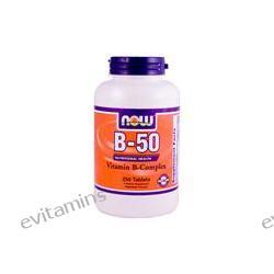 Now Foods, B-50 Vitamin B-Complex, 250 Tablets