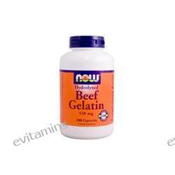 Now Foods, Beef Gelatin, 550 mg, 200 Capsules