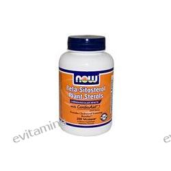 Now Foods, Beta-Sitosterol Plant Sterols, 200 Vcaps