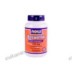 Now Foods, Boswellin with Curcumin, 250 mg, 120 Capsules