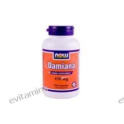 Now Foods, Damiana, 450 mg, 100 Capsules