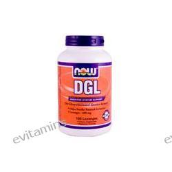 Now Foods, DGL with L-Glycine, 400 mg, 100 Lozenges