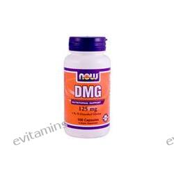 Now Foods, DMG, 125 mg, 100 Capsules