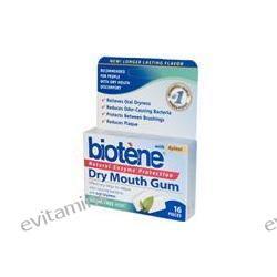 Biotene Dental Products, Dry Mouth Gum, Sugar Free Mint, 16 Pieces