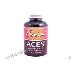 Carlson Labs, Aces, 200 Softgels