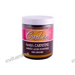 Carlson Labs, Acetyl-L-Carnitine, Amino Acid Powder, 100 g