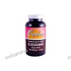 Carlson Labs, Glucosamine Sulfate, 750 mg, 180 Capsules
