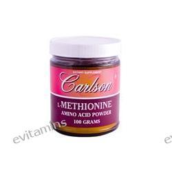 Carlson Labs, L-Methionine, Amino Acid Powder, 100 g
