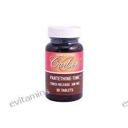 Carlson Labs, Pantethine-Time, Timed-Released 300 mg, 60 Tablets