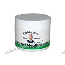 Christopher's Original Formula, Sen Sei Menthol Rub, 2 fl oz (59 ml)