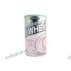 Country Life, BioChem, 100% Greens & Whey Powder, Vanilla Flavor, 10.3 oz (293 g)