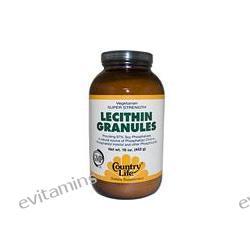 Country Life, Lecithin Granules, 16 oz (453 g)