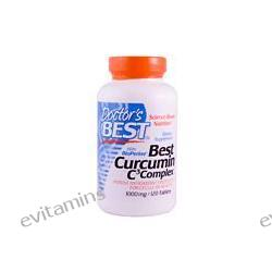 Doctor's Best, Best Curcumin C3 Complex, with BioPerine, 1000 mg, 120 Tablets