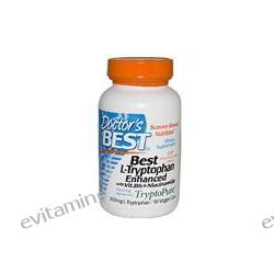 Doctor's Best, Best L-Tryptophan Enhanced with Vit. B6 & Niacinamide, 500 mg, 90 Veggie Caps