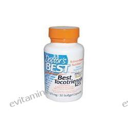 Doctor's Best, Best Tocotrienols 125, 125 mg, 30 Softgel Capsules