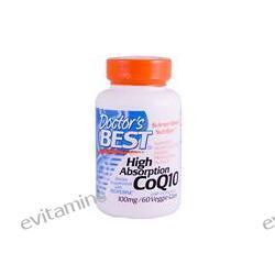 Doctor's Best, High Absorption CoQ10, 100 mg, 60 Veggie Caps