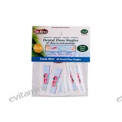 Dr. Ken's, Dental Floss Singles, Fresh Mint, 30 Dental Floss Singles