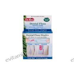 Dr. Ken's, Dental Floss, Fresh Mint, 20 Dental Floss Singles