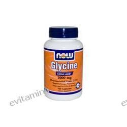 Now Foods, Glycine, 1000 mg, 100 Capsules