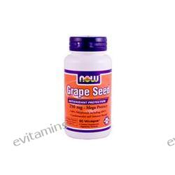 Now Foods, Grape Seed, 250 mg, 90 Vcaps