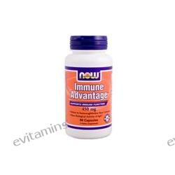 Now Foods, Immune Advantage, 450 mg, 90 Capsules