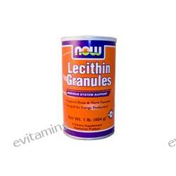 Now Foods, Lecithin Granules, 1 lb (454 g)