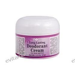 Now Foods, Long-Lasting Deodorant Cream, 2.3 oz (65 g)