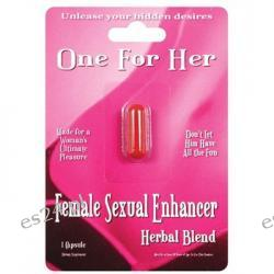 One For Her Female Stimulant - 1 Capsule Blister Pack