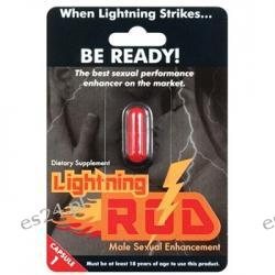 Lightning Rod Male Stimulant - 1 Capsule Blister Pack