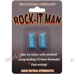 Rock-It Man Male Sexual Stimulant - 2 Capsule Blister