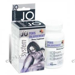 System Jo Penis Enlargement Dietary Supplement - 90 Capsule Bottle