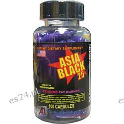 Cloma Pharma Laboratories Asia Black 25, 100 Capsules