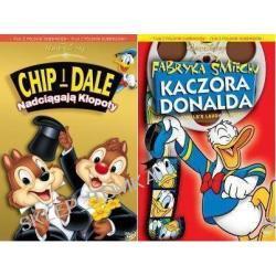 Chip i Dale: Nadciągają kłopoty / Fabryka śmiechu Kaczora Donalda pakiet [2DVD]