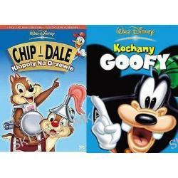 Chip i Dale: Kłopoty na drzewie / Kochany Goofy pakiet [2DVD