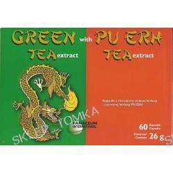 Ekstrakt zielonej herbaty i czerwonej herbaty PU ERH