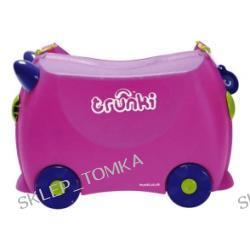 Nowoczesna dziecięca walizka z funkcją jeździka