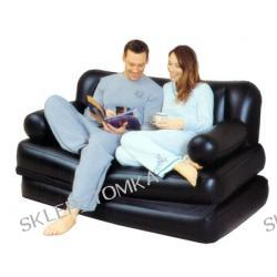 Sofa Air Bed Multi 5 in 1 czarny winyl (kat. C)