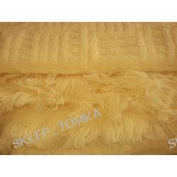 Komplet narzut na łóżko 170x205cm + 2 narzuty na fotele 170x65cm / Brzoskwiniowy