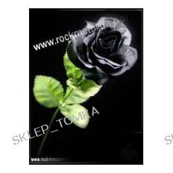 """róża czarna """"Black imitation rose"""" [ROSE] firma ALCHEMY GOTHIC"""