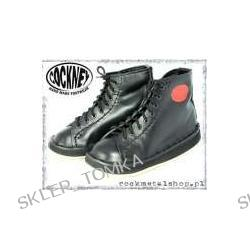 buty COCKNEY STEP - BLACK (8 dziurek)