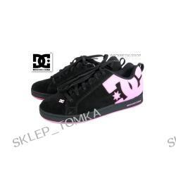 buty damskie DC - W'S COURT GRAFFIK black/pink [300678] - sezon JESIEŃ 2007