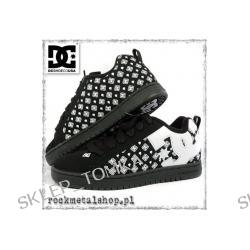 buty DC - COURT GRAFFIK SE black/white [300927] - sezon JESIEŃ 2007