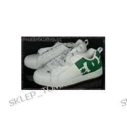 buty DC - COURT GRAFFIK white/green [300529]